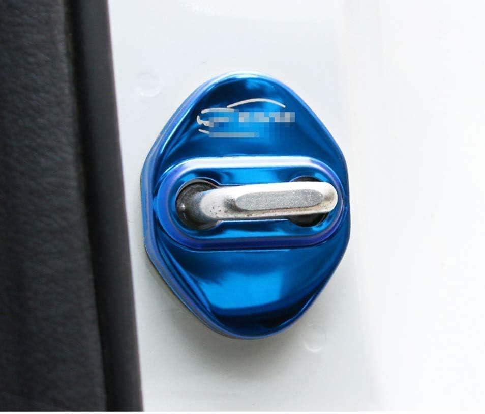 Dekoration 2019 Autoverschl/üsse OZ6YA Auto-T/ürschloss-Abdeckung aus Edelstahl f/ür Honda Civic 2016 Rost Zubeh/ör Schutz gegen Korrosion Schnallenkappe