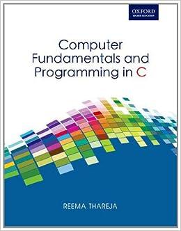 C programming book by reema thareja pdf