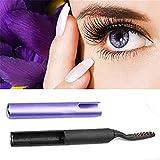 OrliverHL Women Long Lasting Electric Heated Makeup Eye Lashes Curler Pen