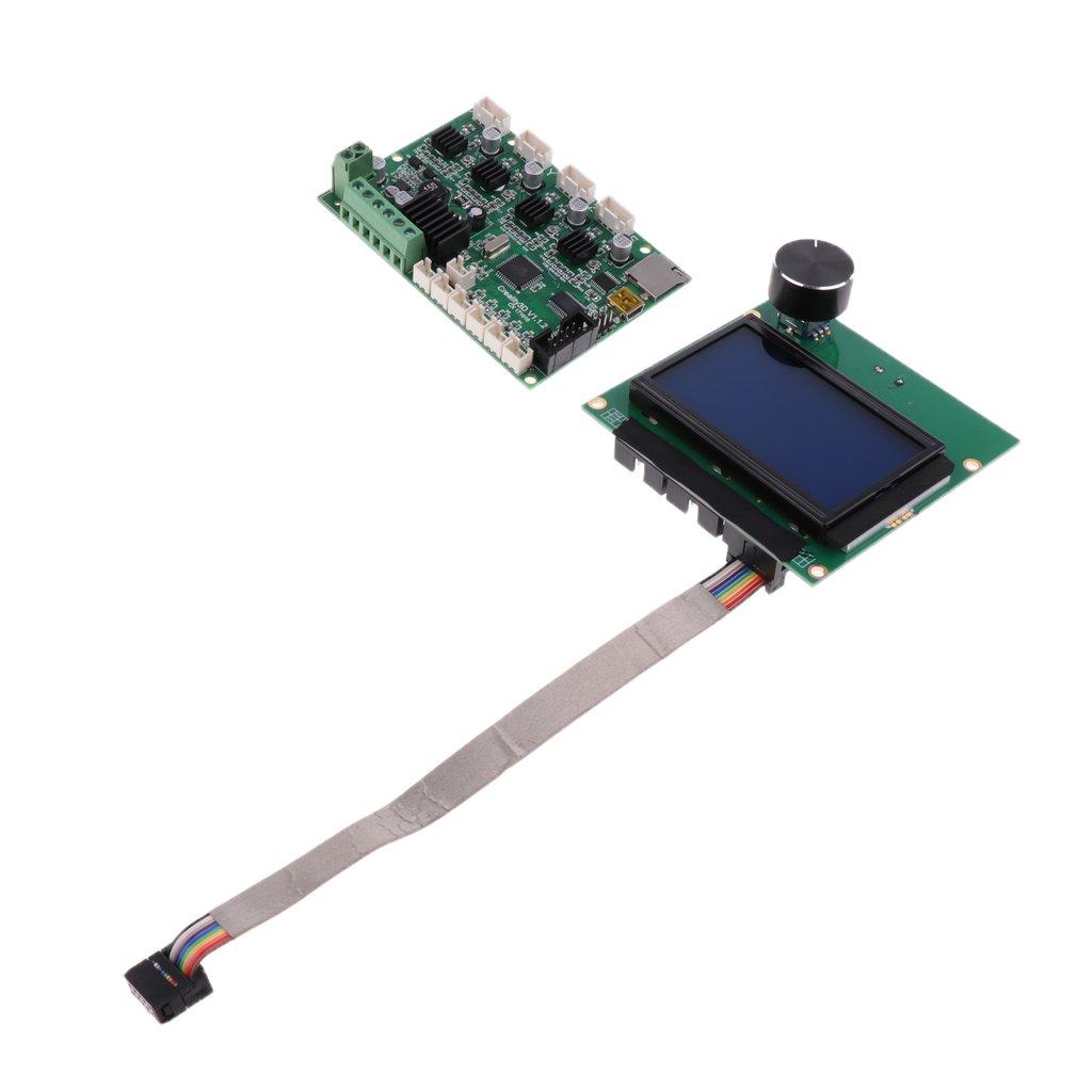 Homyl 1x Módulo de Controlador de Pantalla LCD Display 3D con ...