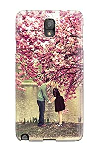Tpu Fashionable Design Love Under Blossom Rugged Case Cover For Galaxy Note 3 New
