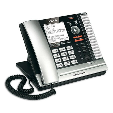 Vtech UP416 ErisBusinessSystem 1-Handset 4-Line Landline Telephone (Analog Business Phone)