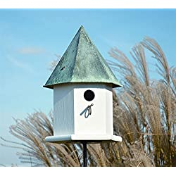 Heartwood 143A Copper Songbird Deluxe Decorative Bird House