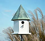 Heartwood 143A Copper Songbird Deluxe Decorative Bird House For Sale