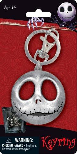 Nightmare Before Christmas Jack Keychain Key Chain Disney Pewter Keyring