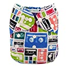 Alva Baby New Design Reuseable Washable Pocket Cloth Diaper Nappy + 2 Inserts H002