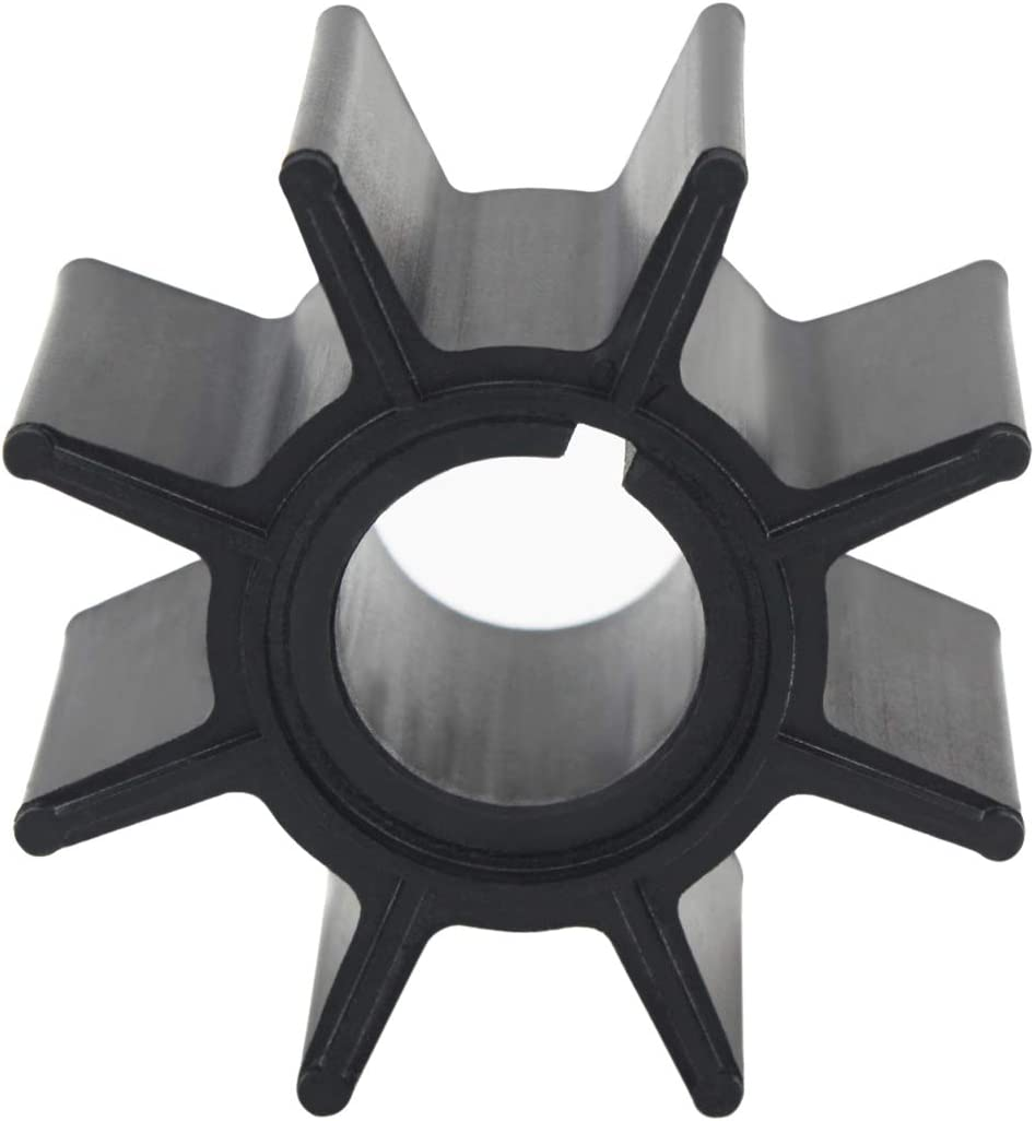 UANOFCN Outboard Impeller 334-65021-0 18-8921 for Tohatsu Nissan 9.9HP 15HP 18HP 20HP Boat Motor