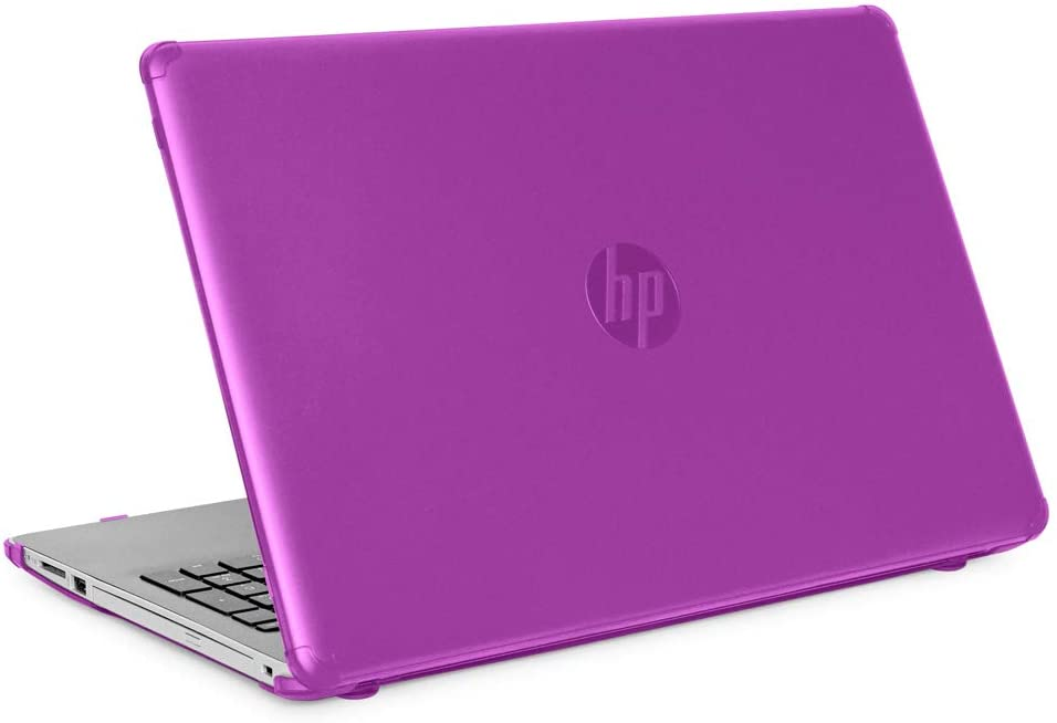 "mCover Hard Shell Case for 15.6"" HP 15-DA0000 Series (15-DA0000 to 15-DA9999) Notebook PC (NOT Fitting Other HP 15"" Pavilion or Envy laptops) - HP-15DA Purple"