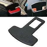 Car Accessories Safety Seat Belt Buckle Alarm Stopper Eliminator Clip Black