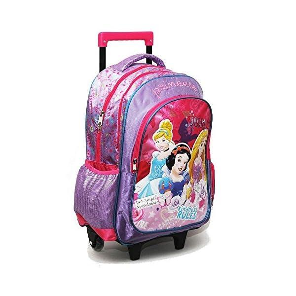 b556476563 Zaino Trolley Scuola Elementare Principesse Disney 43x30x18 – TravelKit