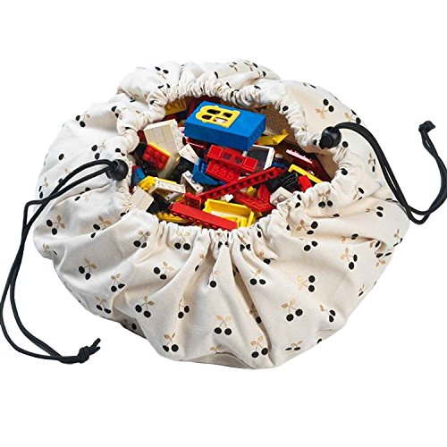 Swing Away Car Organizer (Play&Go Mini Children Cherry Play Mat and Toy Organizer Storage 16