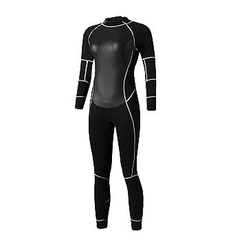 6ddc5013b19 B Baosity Veste Femme Combinaison Plongée Gilet Sport Nautique Protection  UV UPF 50+ Manche Longues