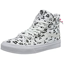 Vans Sk8-Hi Slim Zip Ankle-High Canvas Fashion Sneaker