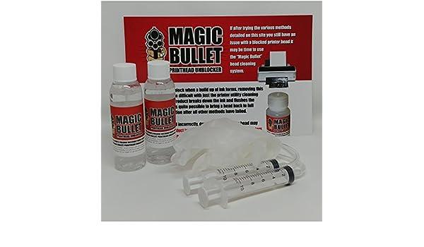 Magic Bullet - Limpiador de Cabezales de impresión y ...
