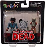 Walking Dead Minimates - Morgan and Zombie Mike by Diamond
