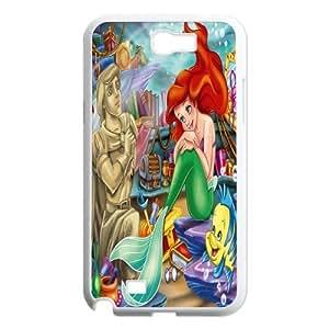 Mystic Zone The Little Mermaid Samsung Galaxy Note 2(N7100) Case for Samsung Galaxy Note II Hard Cover Fits Case WK0595