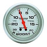 Auto Meter 4401 Ultra-Lite Mechanical Boost/Vacuum Gauge