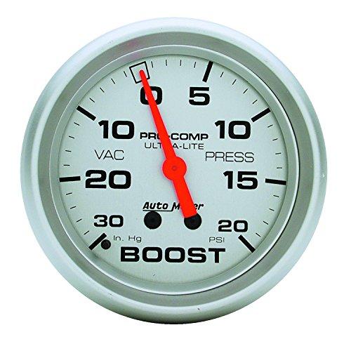 Auto Meter 4401 Ultra-Lite Mechanical Boost/Vacuum ()