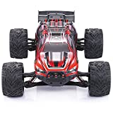 GPTOYS RC Cars S912 33MPH 1/12 Scale RC Trucks,Remote Control Car Off Road Vehicles with Waterproof Electronics,Red,3rd Generation