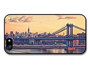 New York City Brooklyn Bridge and Sky of America USA Case For Sam Sung Galaxy S4 I9500 Cover