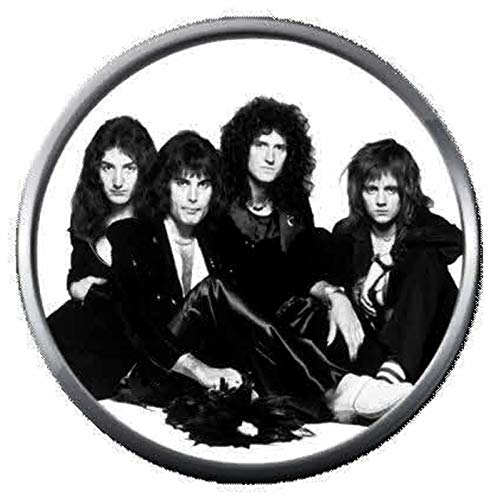 Killer Queen Young Freddie Mercury and Queen Band Members Rock and Roll Hall of Fame Musicians Legends 18MM - 20MM Fashion Snap Jewelry Snap ()
