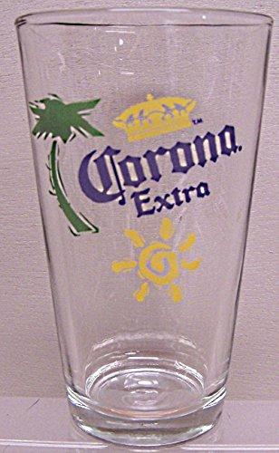 Corona Extra Glassware - Set of 4 Pint Glasses