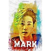 "Image for Mark: GOT7 Member Color Splatter Art 100 Page 6 x 9"" Blank Lined Notebook Kpop iGOT7 Merch Journal Book"