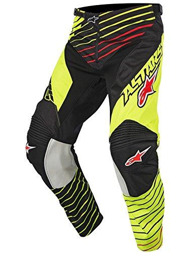 Alpinestars Alpine Stars Racer Braap Boys MX Pants One Size Flou Yellow Black ()