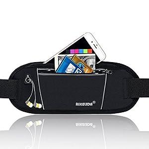 AIKELIDA Running Belt Fanny Pack Runners Belt Waist Pack Fitness Gear Accessories Running Pouch iPhone Xr Xs Max X 8 7 Plus for Men and Women