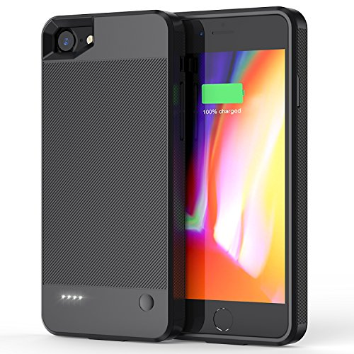 Maiphee iPhone 7 Battery Case, Ultra Slim Portable Charging Case for iPhone 7(4.7 inch) with 2800mAh Capacity- Super Lightweight & Full Protective