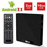 Android 7.1 Smart TV Box – Viden W95 2018 New Generation Android TV Box with Amlogic S905W 64Bits Quad-Core, 2GB+16GB, Built-in Wi-Fi, HDMI Output, USB2, 4K UHD Web TV Box