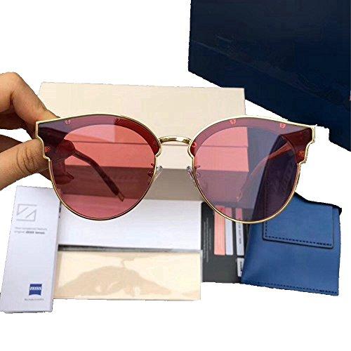 para mujer sol y gafas alta comodidad Shop 6 sol gran de circulares de transmitancia de Gafas Gafas sol Cinco con aqB7w08a