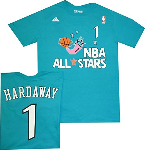 Orlando Magic Anfernee Penny Hardaway All Star 1996 Teal Blue T Shirt 1996 (XL) (Nba T-shirt Throwback)
