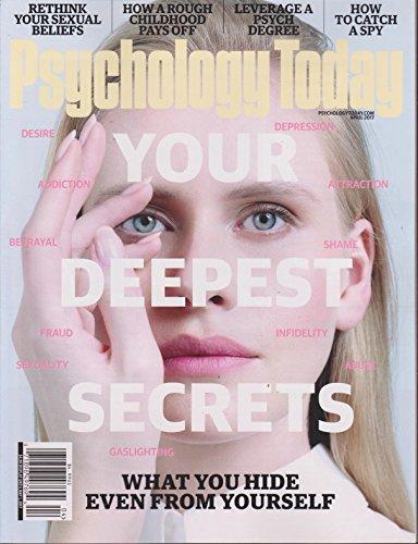 Psychology Today Magazine April 2017