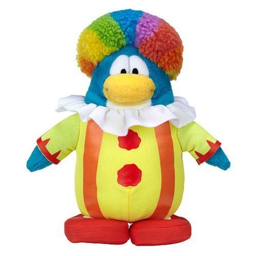 Club Penguin Plush Series 15 - Clown by jacks pacific
