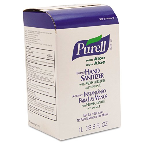 Purell NXT Instant Sanitizing Gel Refill - 1000mL - Dye-free, Moisturizing - Clear - 1 / Each (Space Saver Nxt)