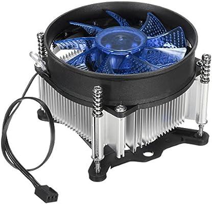 Tutoy Led Cpu Enfriador Ventilador Disipador De Calor Radiador ...