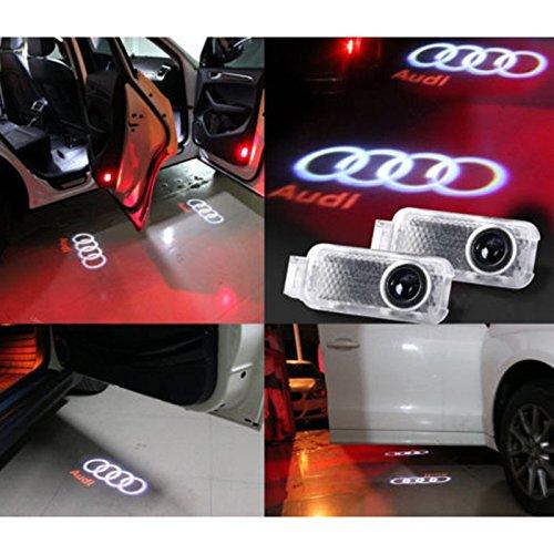 Eeekit 4 Pack Logo Laser Projector Step Door Under Puddle