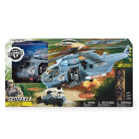 True Heroes U-53 Helicopter Playset