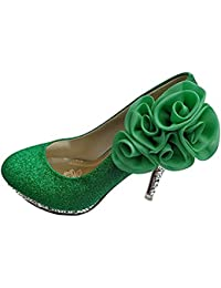 Amazon.com: Green - Pumps / Shoes: Clothing, Shoes & Jewelry