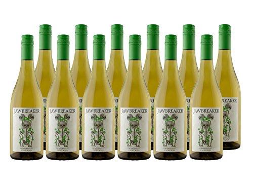 Jawbreaker Chardonnay Non Vintage California White Wine Case Pack, 12 x 750ml
