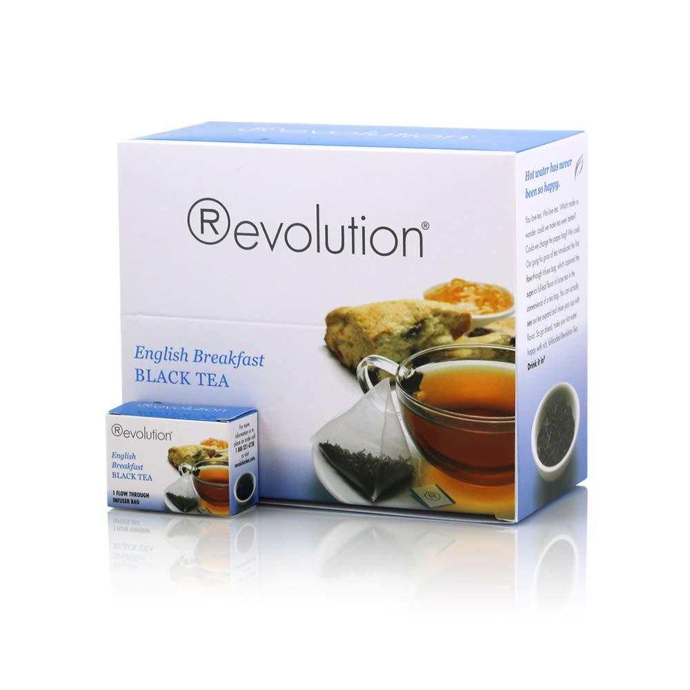 Revolution Tea English Breakfast Black Tea, 30 Count
