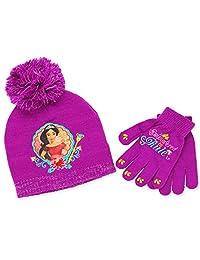 Princess Elena of Avalor Girls Beanie Hat and Gloves Set (Little Kid/Big Kid)