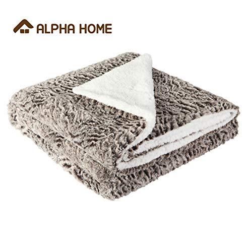ALPHA HOME Sherpa Blanket 50