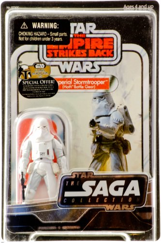 2007 - Hasbro - Star Wars - The Saga Collection - Empire Strikes Back - Imperial Stormtrooper (Hoth Battle Gear) - UGH - Star Case - New - Out of - Hasbro Plates
