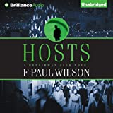 Front cover for the book Hosts by F. Paul Wilson