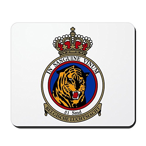 CafePress - 31_Sqn_Tiger_Ntm - Non-slip Rubber Mousepad, Gaming Mouse (2008 Patch Block)