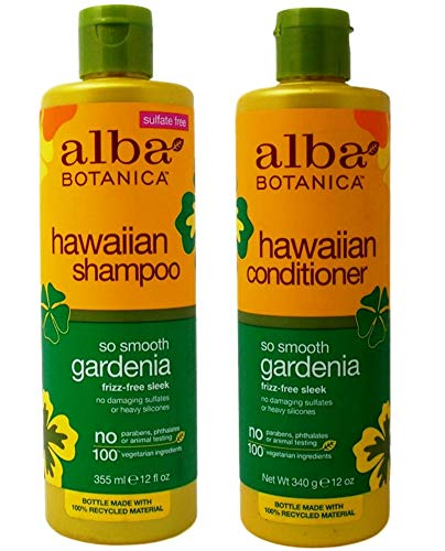- Hawaiian Hair Wash Hydrating Gardenia and Hawaiian Hair Conditioner Hydrating Gardenia With Aloe Leaf Juice, Pineapple, Papaya, Gardenia and Ginger, 12 fl. oz. Each