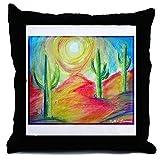 CafePress Desert, Southwest Art! - Decor Throw Pillow (18''x18'')