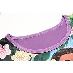 AOVCLKID Moana Comfy Loose Fit Pajamas Girls Printed Princess Dress (100/2-3Y, Purple 2)